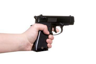 gun in hand