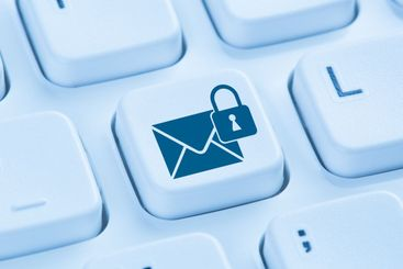 Sending encrypted E-Mail protection secure mail internet...