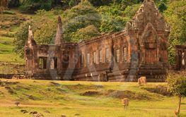 Vat Phou or Wat Phu in Champasak, Southern Laos