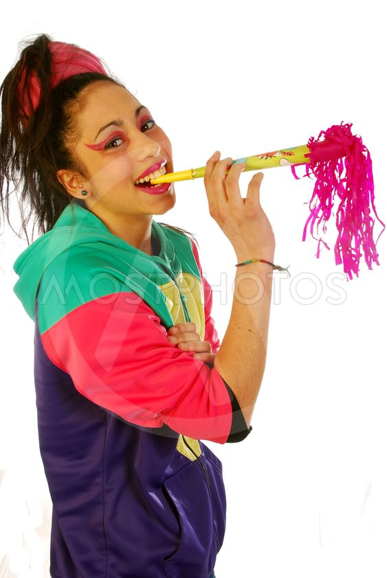 Beautiful girl with trumpet