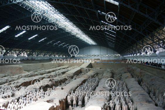 Terracotta Army Xian / Xi'an, China - total