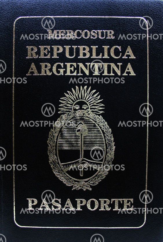 Passport Republica Argentina