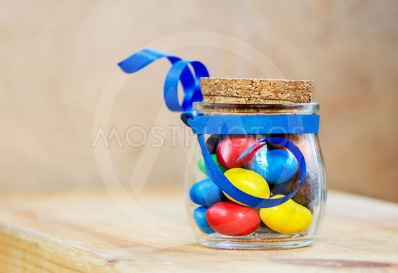 colorful candies jelly bean