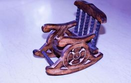 Royal Relaxing Chair - Wooden Made