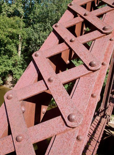 Rusted Bridge Shapes