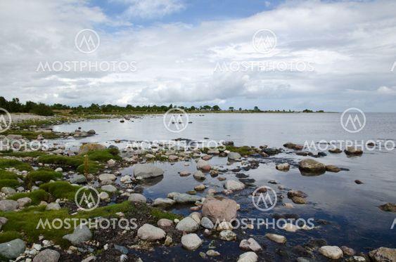 Rocky bay i Østersøen