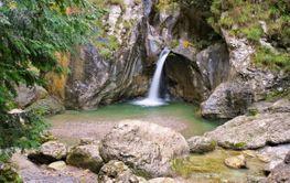 Porlezza Cascata di Begna near Lake Lugano
