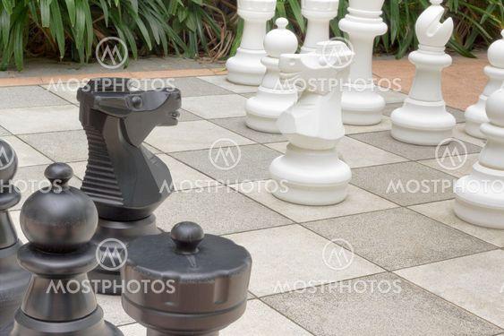 Trädgård schack