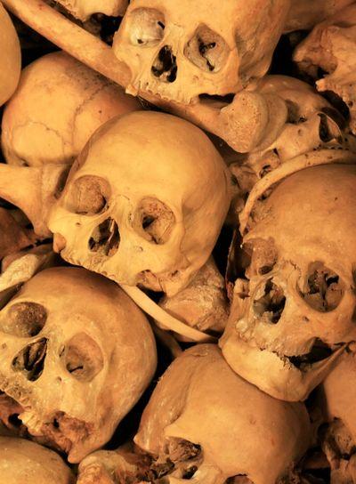 Killing caves of Phnom Sampeau, Battambang, Cambodia