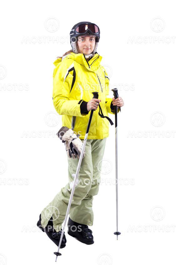 naisten hiihtäjä