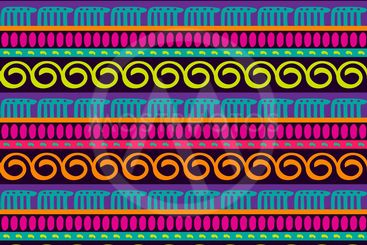 Vector seamless ethnic pattern. Abstract background....
