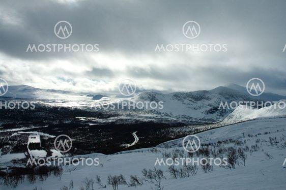 View from Kittelfjäll