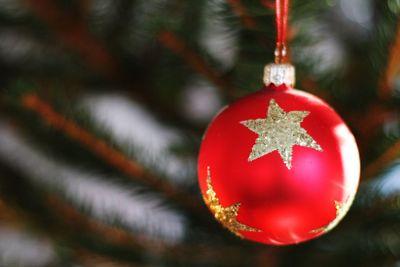 Julgranskula med stjärna