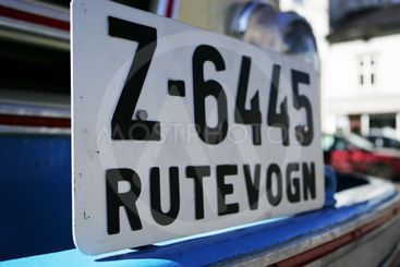 Old number plates