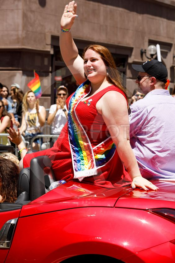 LGBTQ Pride Parade in NYC.