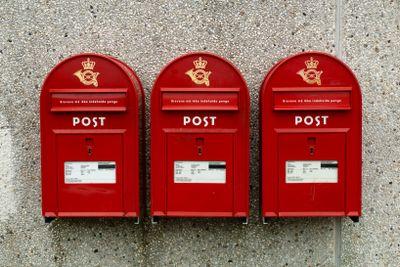 Danska brevlådor