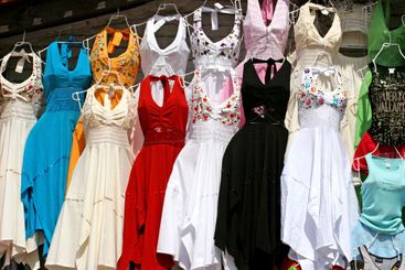 Colorful Mexican Dresses