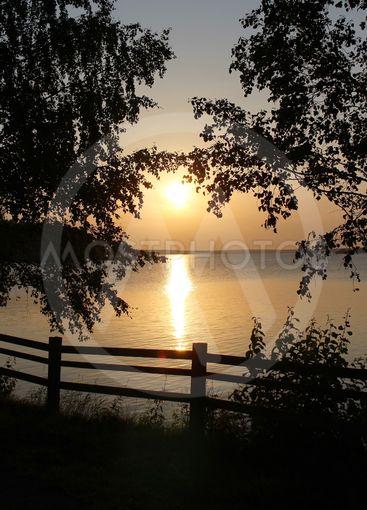 Vacker augustikväll i Luleå