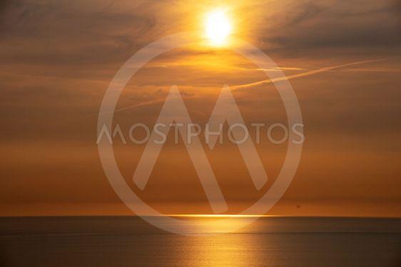 Solnedgång vid Hovs hallar