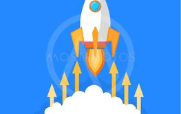 Rocket Launching Starting of Business Project