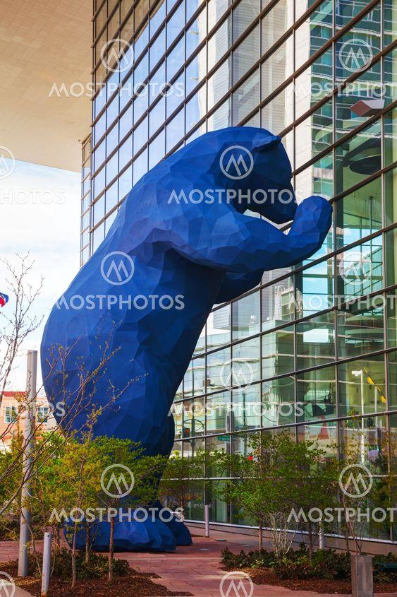 Colorado Convention Center on a sunny day