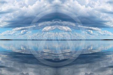 Cloudscape Panorama.