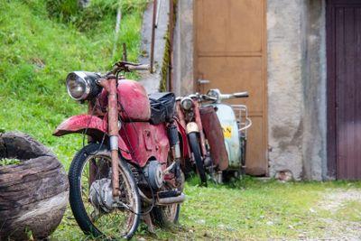 altes Zweirad