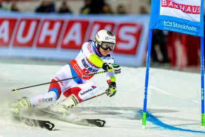 Winner Wendy Holdener (AUS) at FIS SKI WORLD CUP