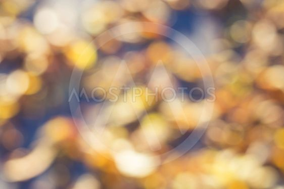abstract picture of autumn in Belarus