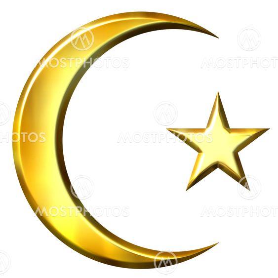 3D Golden Islamic Symbol