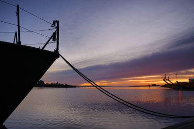 Morning ferry to Aspö