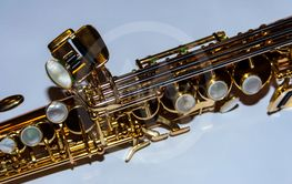 Details of the flap system of a saxophone