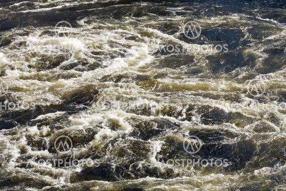 Whirlpool in  river