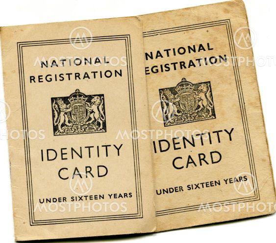 British Identity Cards