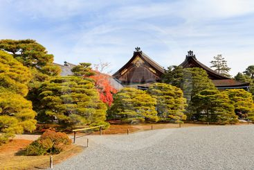 Kyoto Imperial Palace, Japan.