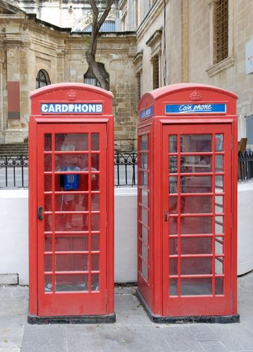 Two Telephone Booths