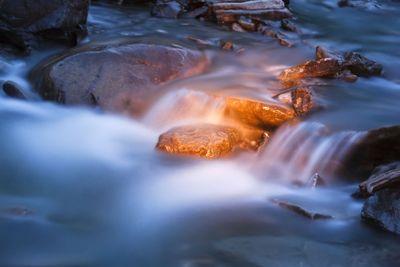 slow river stream