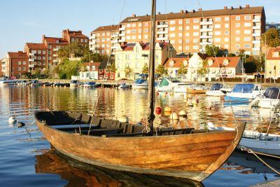 Traditional rowing boat of Blekinge