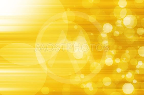 abstract circles with yellow lines background