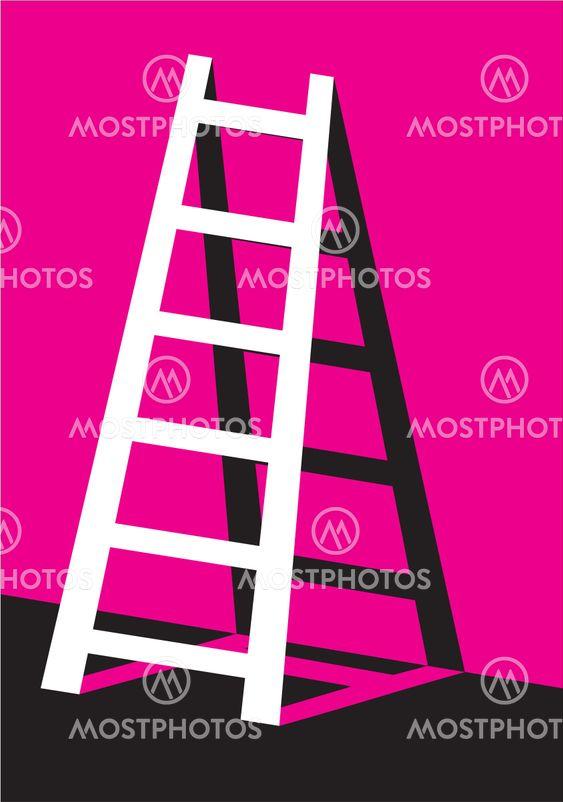 the white ladder