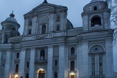 Saint Petro and Pavlo Catholic Cathedral in Lutsk