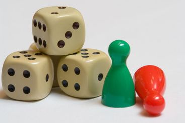 Dice fallen at Red Green