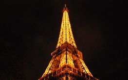 Eiffel Tower by night PARIS