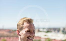 Portrait of a happy smiling man