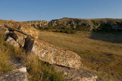 stone hill landscape