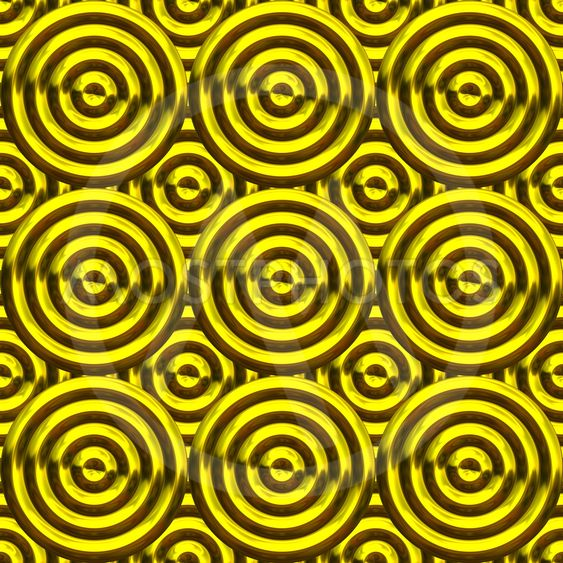 Circles with grooves