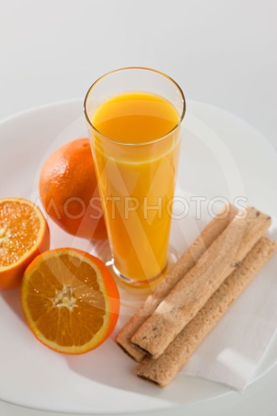 juice and pastry