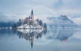 Lake Bled ,Slovenia, Europe