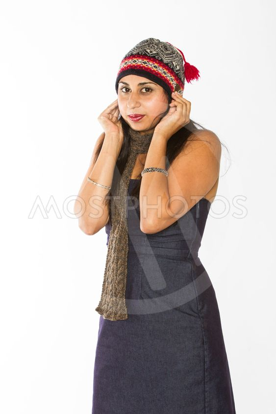 Cold Indian Woman