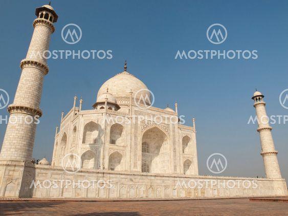 A beautiful Taj Mahal